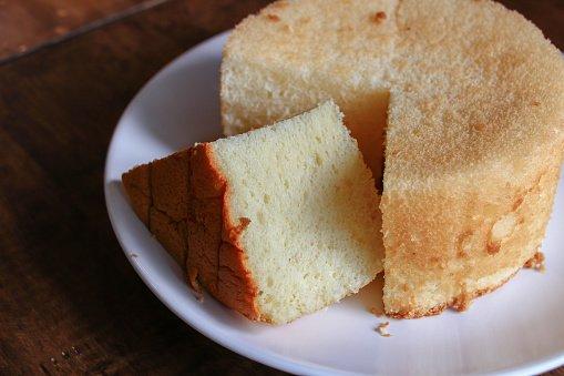 綠香蕉戚風蛋糕
